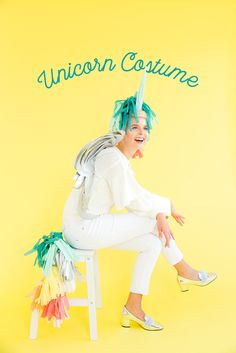 If you love our unicorn costume go and check out the YouTube video to see how we put everything together! Magical!