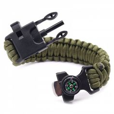 brand Ganzoo survival whistle olive green outdoor survival Extremely compact safety whistle with 3/tone shell for best volume