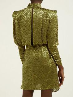 Event Dresses, Midi Dresses, Green Chiffon Dress, Metallic Sandals, Occasion Wear, Silk Crepe, Express Dresses, Celebrity Style, Creations
