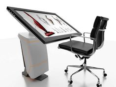 Digital Drafting Tables - The iSpace Workstation Replaces Physical Drawing Tools with Virtual Ones (GALLERY)