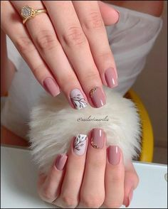 142 top class bridal nail art design for spring inspiration page 17 Elegant Nails, Classy Nails, Stylish Nails, Trendy Nails, Toe Nails, Pink Nails, Oxblood Nails, Magenta Nails, Nails Turquoise