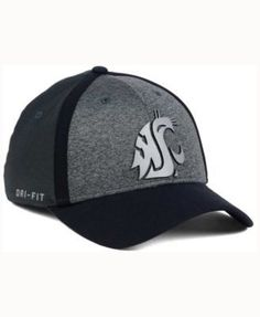 Nike Washington State Cougars Heather Stretch Fit Cap - Gray OSFM