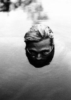 Brad Pitt by Peggy Sirota.