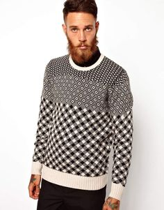 PS by Paul Smith Jumper with All Over Pattern