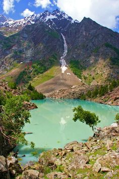 Naltar Lake, Gilgit Baltistan, Pakistan
