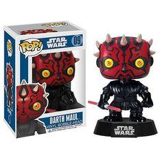 POP! Figur Star Wars Darth Maul - Auktion #figure #starwars #darthmaul