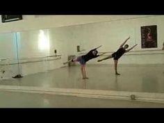 Balance Study for Horton Technique Modern Dance Class (+playlist)