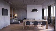 open space / Che tipo di colore si adatta meglio ad ogni stanza? #hogarhabitissimo