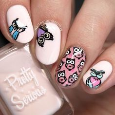 Stamped with plate UC - Lovely Leaves   #naildesign #hotnails #nailart #cute #tipsStamped with plate UC - Lovely Leaves