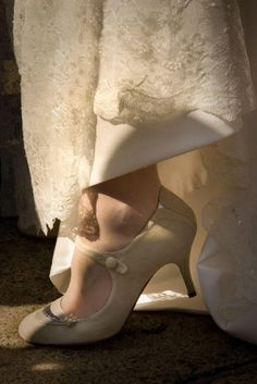 Wedding Shoes - Retro Vintage to Classic Styles