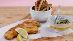 Recipe with video instructions: How to make Beer Battered Cod and Chips…