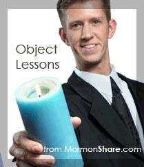 Largest library anywhere. 300+ LDS object lessons listed by topic and scripture reference.