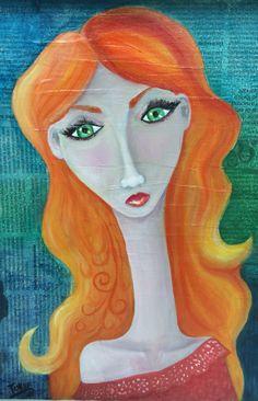"""Marina"" Disney Characters, Fictional Characters, Disney Princess, Art, Impressionism, Art Background, Kunst, Performing Arts, Fantasy Characters"