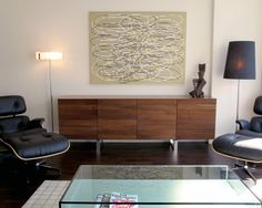 Furniture, Modern Minimalist Wood Buffet Furniture Ideas For Decoration Living Room With Coffe Table Glass And Black Chair: Dining Room Sideboards To Make Your Dining Room More Appealing