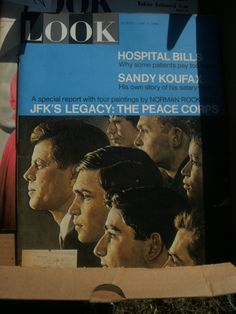 Look Magazine June 14 1966 JFKs Legacy The Peace by AJRECORDS, $28.00