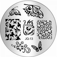 1Pc Pretty Nail Art Stamping Full Designs Image Stamp Multi Mix JQ-Series Type Code JQ13 * More info could be found at the image url.