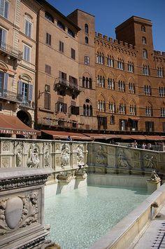 Siena, Italy - Piazza del Campo