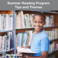 Summer Reading Program Tips and Themes. Organize a program for your school, library or group with ideas from planning a kickoff party to rewarding summer readers.