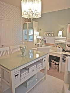 347 best Home Office Craft Room images on Pinterest | Craft rooms ...
