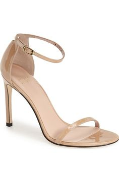 d92291ecdc2 Stuart Weitzman  Nudistsong  Ankle Strap Sandal (Women) available at   Nordstrom Nude