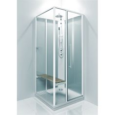 Baderomspakke 1 V&B, Hansgrohe, Novellini Lockers, Locker Storage, Cabinet, Glass, Furniture, Basement, Bathrooms, Home Decor, Clothes Stand