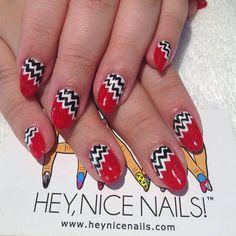 Instagram photo by heynicenails  #nail #nails #nailart