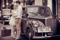Vintage idea prewedding photo shoot   Project by Vizio Photography http://www.bridestory.com/vizio-photography/projects/benny-and-imelda