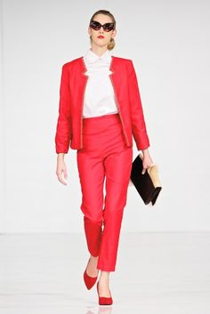 Maria Kroes - All Red Range, the RED suite with springbuck clutch