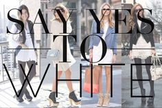 Say yes to white!