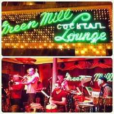 the green mill is classic #chicago. #uptown