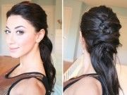 Most popular Criss Cross Ponytail Coiffure