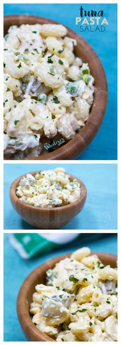 Get the taste of summer with this easy macaroni salad with tuna and dill. Great side dish for BBQs! Dinner Dishes, Food Dishes, Tuna Dishes, Side Dishes Easy, Side Dish Recipes, Tuna Macaroni Salad, Easy Pasta Salad Recipe, Pasta Salad Italian, Barbecue Recipes