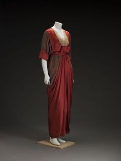 Fabulous red silk, 1910