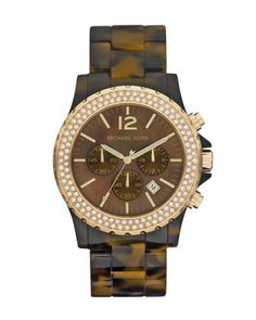 Michael Kors Oversized Madison Chronograph Watch.