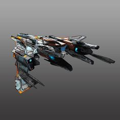 Starfighter 3D Model Game ready .max - CGTrader.com