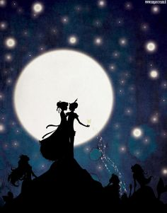 PeterPan: The Mermaid Lagoon by sugarcream on deviantart. I love this artist and her silhouettes!