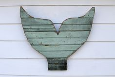 Mermaid Reclaimed Wood Sign Rustic Mermaid Tail by ATXFrontporch