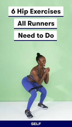 Whether you have tendinitis, runner's knee, IT band syndrome, or just gas out halfway through your long runs, chances are your hips have something to do with it. And unfortunately, physical therapy isn't always always an affordable option for treating pain. Here, you'll find six hip-strengthening exercises for women, or any runners really, to help your hips and lower body better support your running goals.