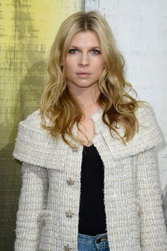 Clemence Poesy Style at Chanel