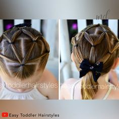 Beautiful hairstyle for girls By: Toddler Hairstyles Best Picture For baby girl hairstyles wit Toddler Hair Dos, Easy Toddler Hairstyles, Easy Little Girl Hairstyles, Girls Hairdos, Cute Hairstyles For Kids, Kids Hairstyle, Hairstyle For Baby Girl, Children Hairstyles, Halloween Hairstyles