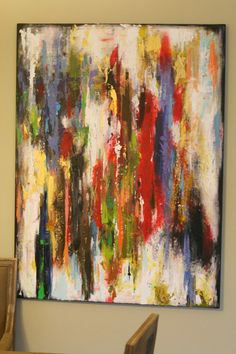 Original Abstract painting large abstract painting abstract art painting on canvas wall decor Modern Contemporary by oak