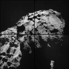 Images returned from the European Space Agency's Rosetta mission indicate that during its most recent trip through the inner solar system, the surface of comet was a very active place. Rosetta Spacecraft, Rosetta Mission, Asteroid Belt, Planets And Moons, Closer To The Sun, Exploration, Space Images, Space And Astronomy, Outer Space