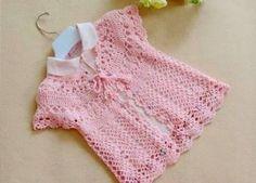 New knitting baby vest pattern free crochet ideas Baby Booties Knitting Pattern, Poncho Knitting Patterns, Baby Girl Patterns, Baby Clothes Patterns, Bag Pattern Free, Vest Pattern, Crochet Keychain Pattern, Baby Vest, Crochet Baby