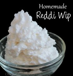 readywhip with Coconut Cream.