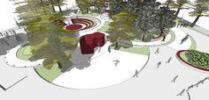 CC_UI Arq. Urbana_Proyect Diseño espacio público_201602 on Los Andes Portfolios Urban Landscape, Landscape Design, Behance, Branding, Holiday Decor, Creative, Illustration, Anime, Art