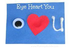eye heart you valentine