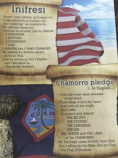 Guam Chamorro Food, Chamorro Recipes, Guam Flag, Liberation Day, Mariana Islands, Island Food, Circuit Projects, Thinking Day, Paradise Island
