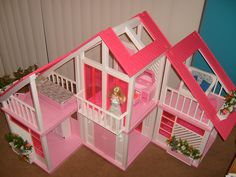 Barbie Dream House - Excellent Condition!  by Doll_Collector, via Flickr
