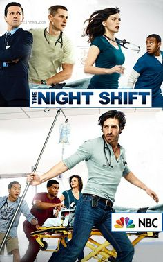 """""""The Night Shift"""" This is one of the best shows in the world i love it"""