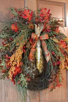 Front Door Fall Wreath